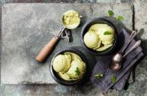 Pyszne lody na bazie zielonej herbaty