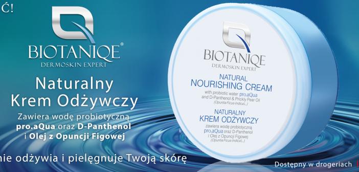 Naturalny Krem Odżywczy Biotaniq