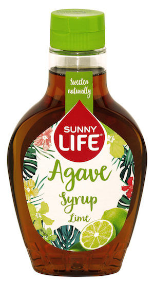 Syrop z agawy o smaku limonki