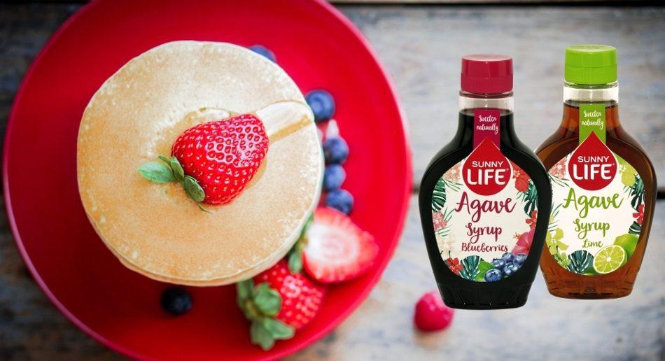 Słodko, bez grzechu i ze smakiem.Syropy smakowe z agawy Sunny Life