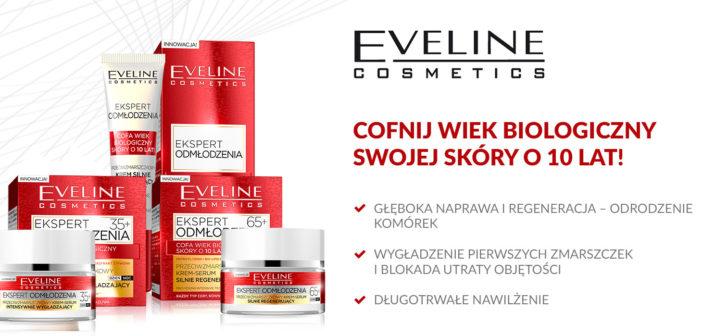 Ekspert Odmłodzenia. Walka ze zmarszczkami od Eveline Cosmetics