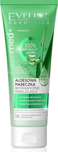 Aloesowa maseczka nawilz chlodzaca Facemed+ EVELINE COSMETICS