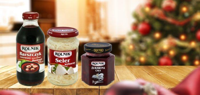 Smaczne Święta! Z produktami marki Rolnik