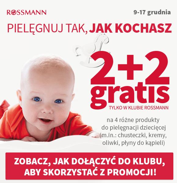 Nowa promocja w Rossmannie. Tym razem skorzystają rodzice maluchów.
