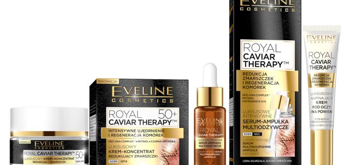 Nowość! Eveline Royal Caviar Therapy idealne na świąteczny prezent