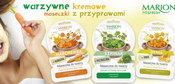 Maseczki do twarzy MARION FIT & FRESH warzywa i przyprawy