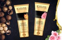 Luksusowe kremy do rąk i paznokci z serii Luxury Gold Edition Eveline Cosmetics