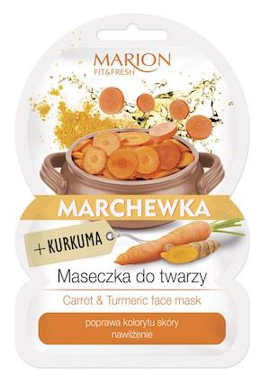 web_Maseczka marchewka i kurkuma FIT&Fresh MARION