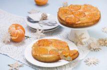 Odwracane ciasto mandarynkowe
