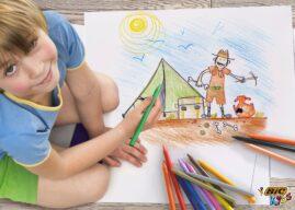 Rysowanie, czyli nauka bez lekcji. Jak zachęcać Małego Artystę i doceniać jego dzieła?